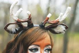 fawn headband deer costume tutorial