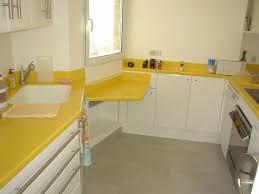 cuisine jaune et blanche pdt jaune