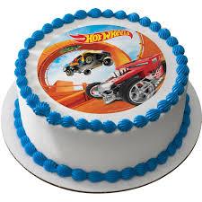 edible cake topper hot wheels 7 5 edible cake topper each reduced