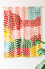 paper chain wall hanging paper chains walls and diy toys
