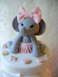 baby shower cake toppers girl the original baby girl elephant cake topper baby girl elephant