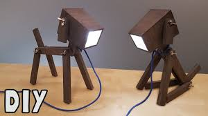 diy dog lamp how to make video tutorial youtube
