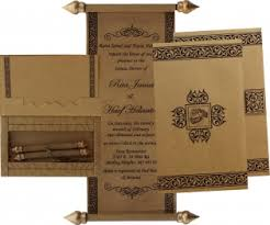 scroll wedding invitations shubhankar scroll wedding cards wedding invitations