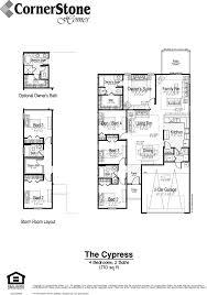 cornerstone homes floor plan cypress cornerstone homes