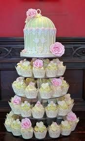 wedding cupcakes birdcage cupcake tower 2026564 weddbook