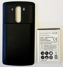 amazon com lg g3 extended battery hyperion 6000mah extended