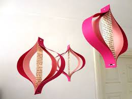 Valentine Day Decorations Australia by Valentines Day Paper Decorations Recycled Romance Novels
