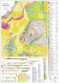 Baltic Sea Map Geological Map U201eland And Sea Areas Of Northern Europe U201c Scale 1 4