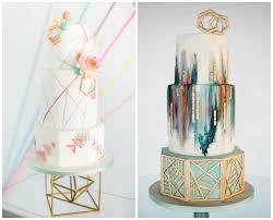 trend alert gold geometric wedding inspiration