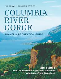 Columbia River Map Columbia River Gorge Travel Council