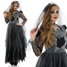 womens corpse bride costume halloween fancy dress costume gothic