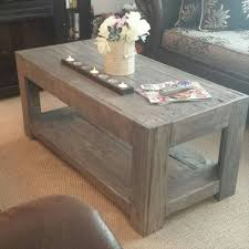 lovely diy wood coffee table and my diy wood slab coffee table