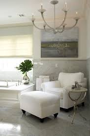 Bathroom Ottoman Bathroom Gray Bathroom Anchor Shaped Chandelier White Accent