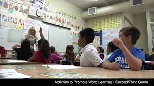 activities to promote word learning second third grade