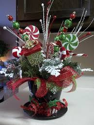 Ideas For Christmas Centerpieces - best 25 top hat centerpieces ideas on pinterest coffee can