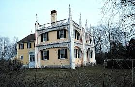 wedding cake house kennebunk maine 19th century archtecture houses