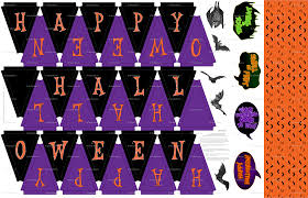 Happy Halloween Banners by 2 Diy Halloween Banners Fabric Designs Lavaguy Com