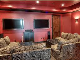 Projector Media Room - this media room is very unique and currently offers the ability to
