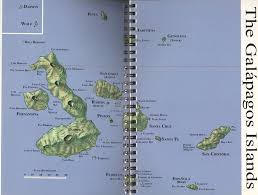 Galapagos Map A Field Guide To Marine Molluscs Of Galapagos