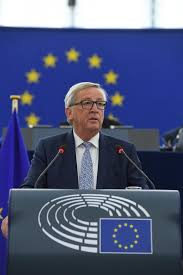 of the president juncker delivers state of the union address 2017