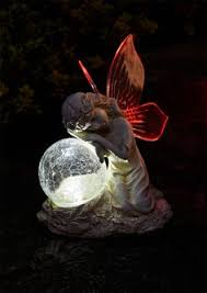 maison garden gonk with lantern solar powered garden ornament