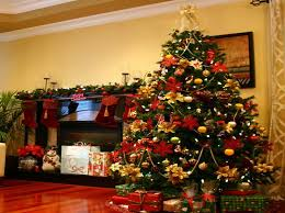 Decorated Christmas Trees Ideas Red Christmas Tree Decorating Ideas Lovely Christmas With Red