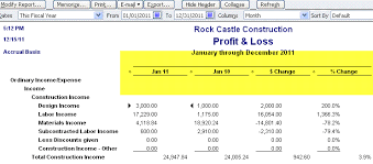 profit and loss report for multiple months in quickbooks scott