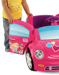 barbie power wheels carrito niña fisher price power wheels barbie volkswagen hm4