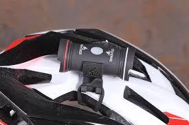 best helmet mounted light review brightside topside helmet light road cc