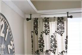 Curtain Rod Ceiling Mount Curtain Rod Ceiling Mount Express Air Modern Home Design