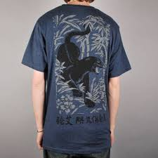 Rip Navy - rip n dip panther skate t shirt navy skate clothing from