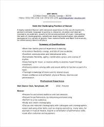 dancer resume template dancer resume template 6 free word pdf thesis reference style 7th grade autobiography book reports