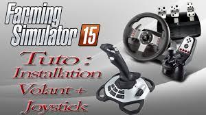 siege volant ps3 tuto comment mettre un joystick volant sur farming simulator