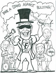 bullying coloring pages free printable coloring worksheets for