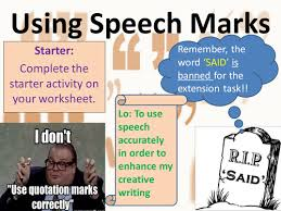 punctuation speech marks full lesson powerpoint and worksheets