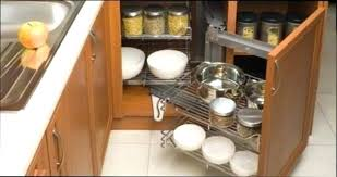 tiroir angle cuisine interieur placard cuisine rangement interieur meuble cuisine