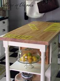 shipping crate kitchen island cottage in the oaks
