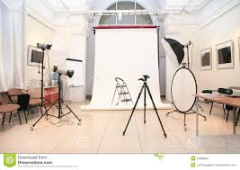 Photography Studio Photographic Studio Interior Royalty Free Stock Images Image