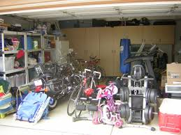 Two Car Garage Organization - a two car garage that held everything but the cars san diego
