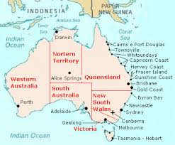 australia map of cities cities of australia information lifestyle and tourism