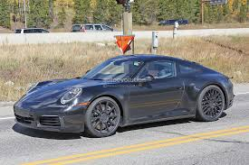 porsche hybrid 911 2019 porsche 911 flies on nurburgring while hybrid rumors grow