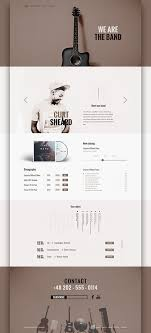 templates powerpoint free download music the band free psd template art ui ux webdesign pinterest