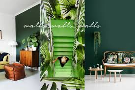 pantone greenery interior design ideas one brass fox