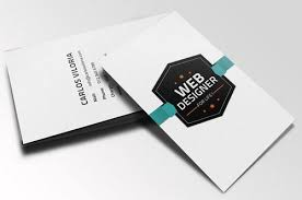 44 free clean and simple white business card template in psd ginva