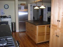Galley Kitchens With Island - rectangular kitchen island in galley kitchen u2014 smith design more