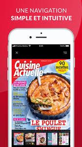 cuisine tv 24 minutes chrono cuisine actuelle le magazine on the app store
