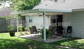 Aluminum Patio Awning Stylish Patio Awning Kits With Patio Covers The Garden And Patio