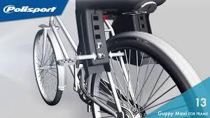 siege velo polisport monter une siège polisport sur le cadre de vélo