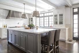 kitchen island shop white kitchen island with gray velvet counter stools pertaining to