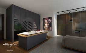 Wet Kitchen Design How We Designed A Five Bedroom Hdb Apartment Featured On